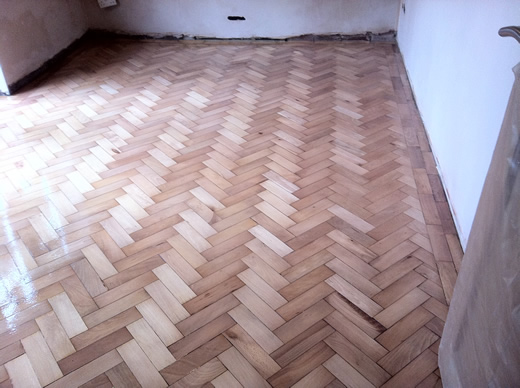 Beech Parquet Wood Block Flooring Repaired and Restored by Woodfloor-Renovations