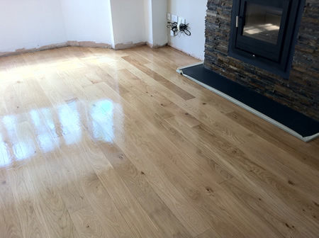 Oak Floor Restoration in North Wales by Woodfloor-Renovations