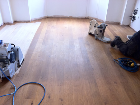 Floor Sanding and Oak Floor Restoration