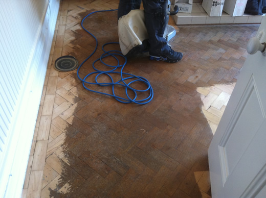 Floor Sanding North Wales Pine Wood Block Flooring