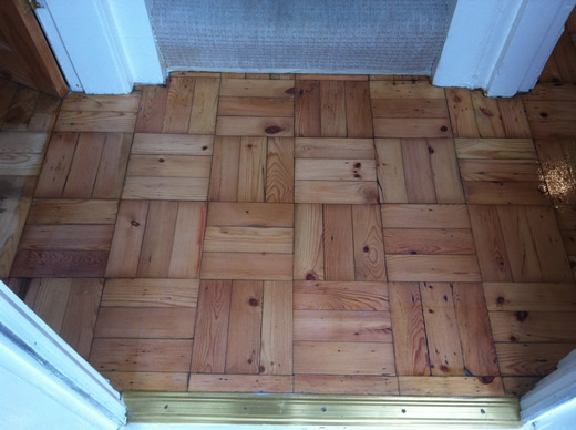 Parquet Floor Restoration and Renovation in North Wales