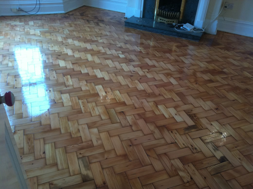 Wood floor Sanding and Refinishing in North Wales by Woodfloor-Renovations
