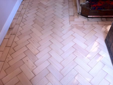 Parquet Floor Repairs Completed