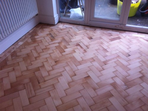 Parquet Flooring Sanded in Cheshire by Woodfloor-Renovations