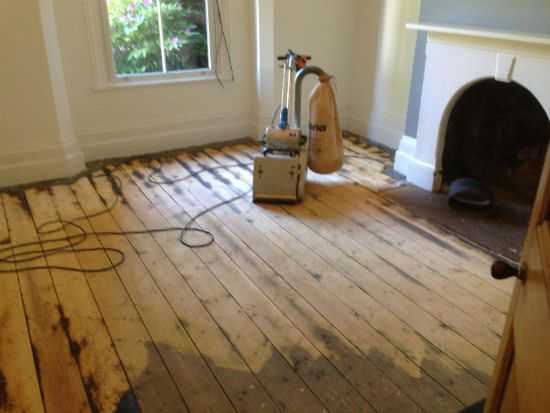 Pine Floorboards Renovated by Woodfloor-Renovations