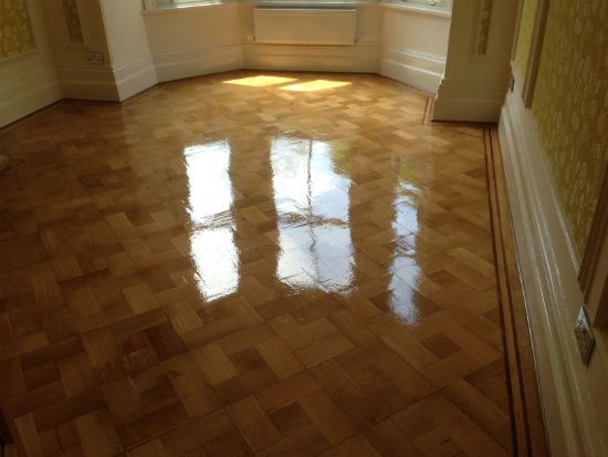 Oak Parquetry Professionally Restored by Woodfloor-Renovations