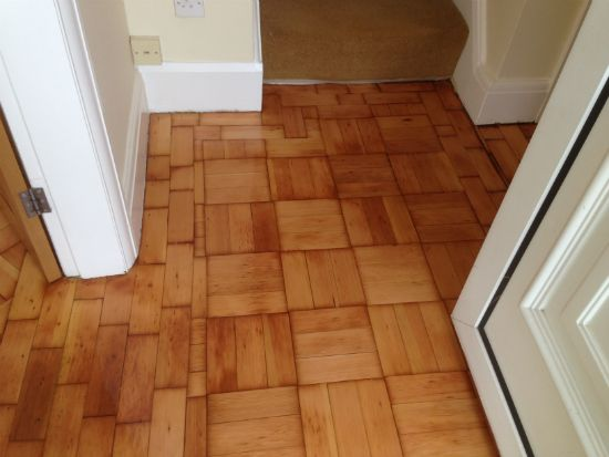 Douglas Fir Wood Block Flooring Renovated in Chester, Cheshire