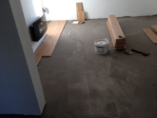 Sub Floor Self Levelled