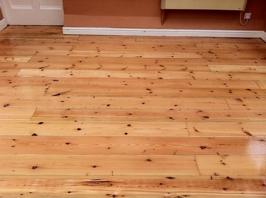 Floorboards Sanded and Sealed in Cheshire by Woodfloor-Renovations