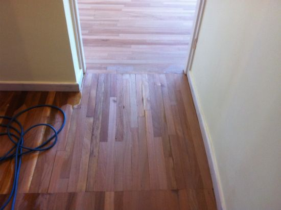 Mahogany Hardwood Flooring Repairs and Floor Sanding in Prestatyn North Wales by Woodfloor-Renovations