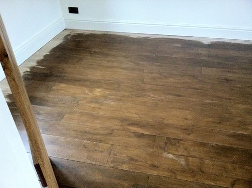 Oak Hardwood Flooring Restored in North Wales by Woodfloor-Renovations